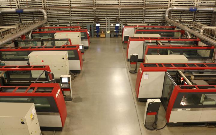 Kooima Company | Flat Laser Cutting