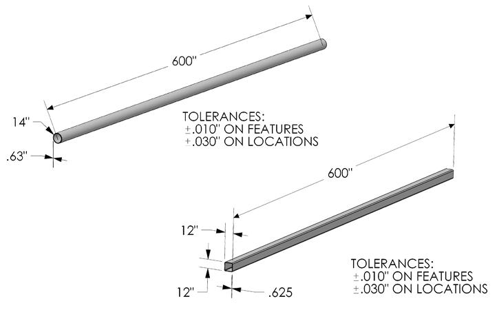Kooima Company   Tube Laser Cutting Max Work Envelope