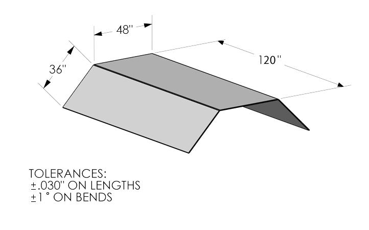 Kooima Company | Flat Bending Max Work Envelope
